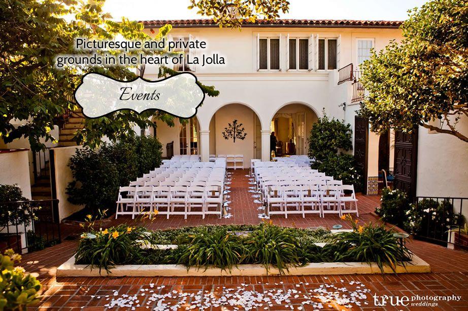 Darlington house la jolla weddings receptions special