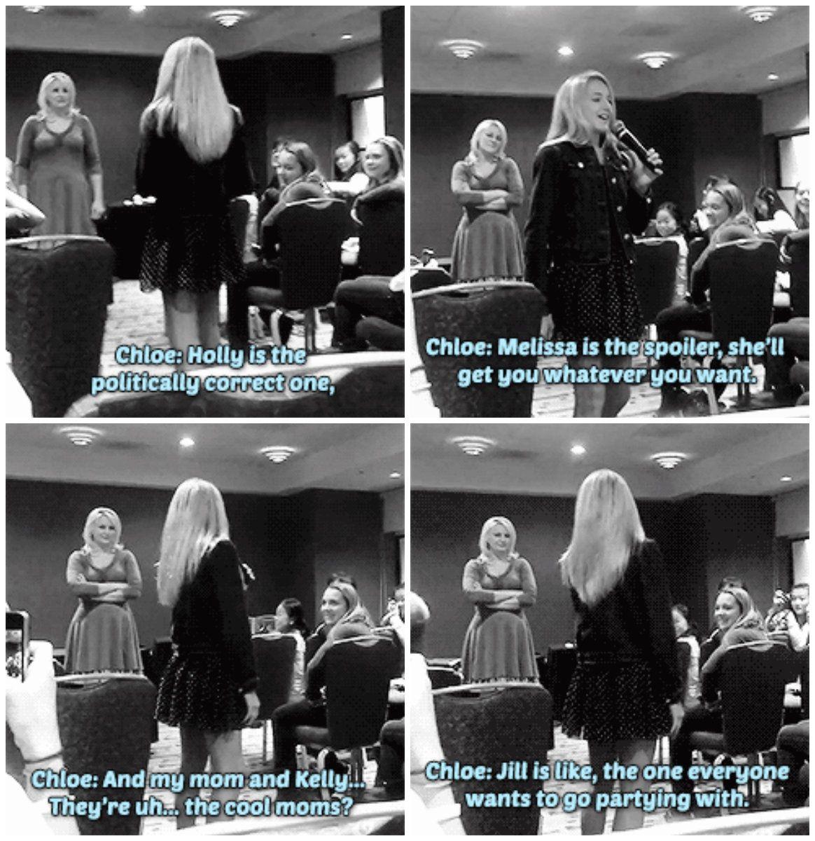 Chloe At Meet And Greets Hahahaha Oh Jill Id So Want To Go
