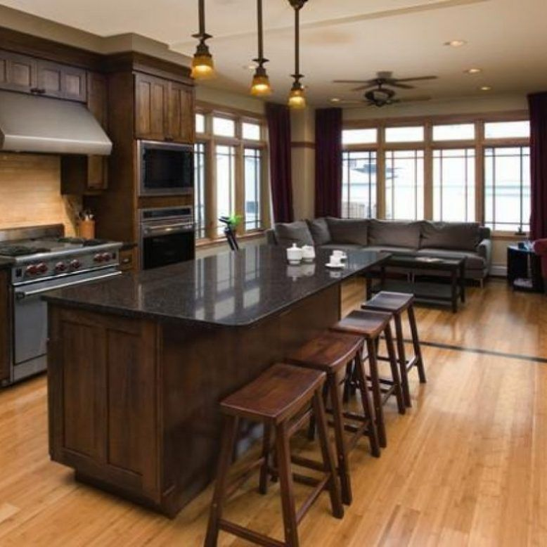 40+ Light Wood Kitchen Cabinets Wall Color an in Depth ... on Maple Kitchen Cabinets With Dark Wood Floors Dark Countertops  id=84998