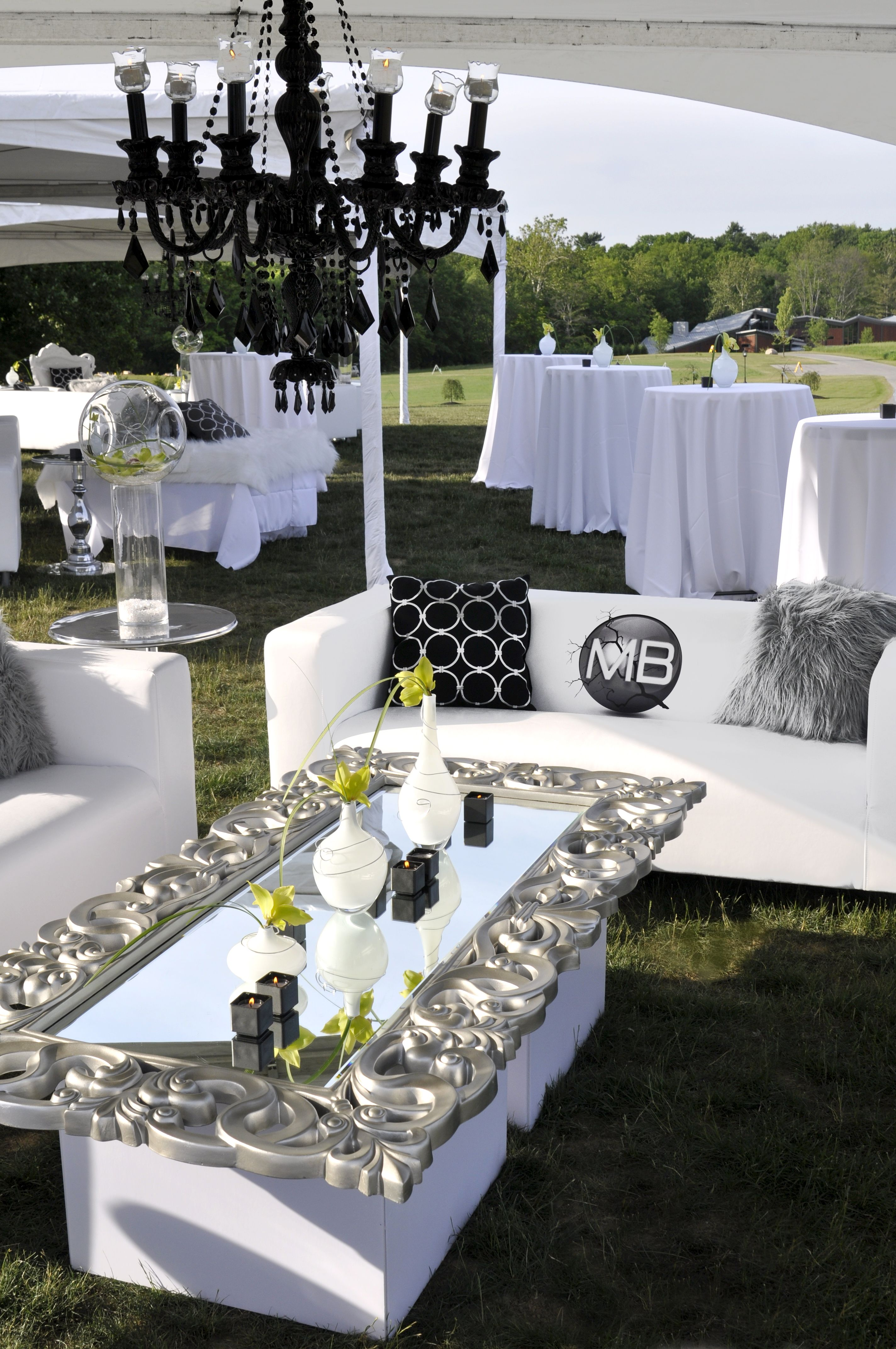 Grand Glam Grad Party Wedding Decor and Design by Something New