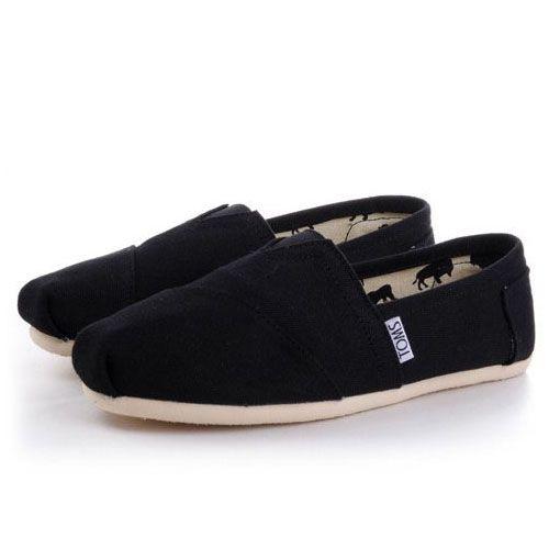 Toms Classics Mens Shoes Black Definitely Suits Any Graceful Ladies ... ba093c0de58c