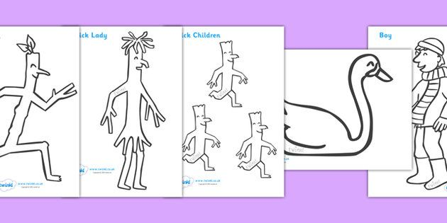 free stick person coloring pages - photo#11