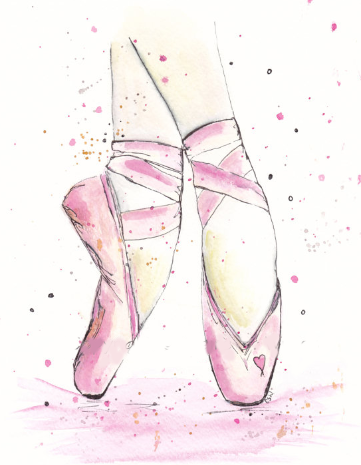 Ballet Shoes Pink Color Colours Ballet Bailarinas De Ballet