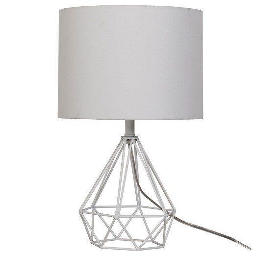 38 On Trend Dorm Decor Pieces You Can Score For Less From Target Target Table Lamps Lamp Geometric Table Lamp