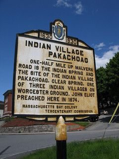 Indian Village Pakachoag #worcester