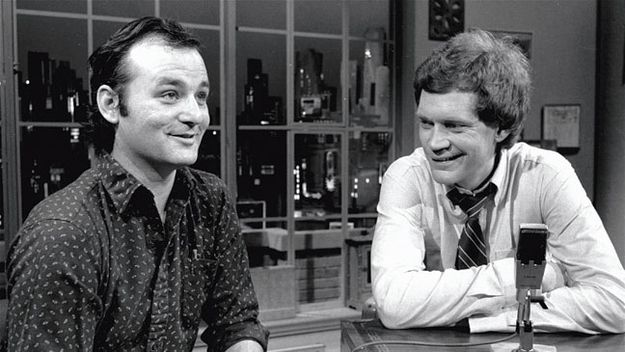 Because he was David Letterman's first guest   53 Reasons To Go Batshit Over The Birth Of Bill Murray