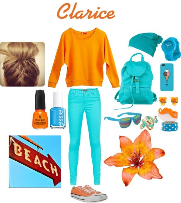 """""""clarice"""" by neoncasandra on Polyvore"""