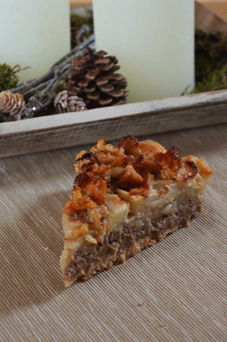 Apfel-Walnuss-Kuchen #homemadesweets