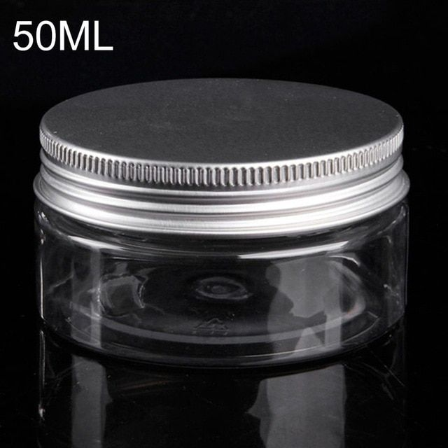 86b3e28e39b2 50ml Plastic Jar Travel Bottle Empty Cosmetic Containers Packaging ...