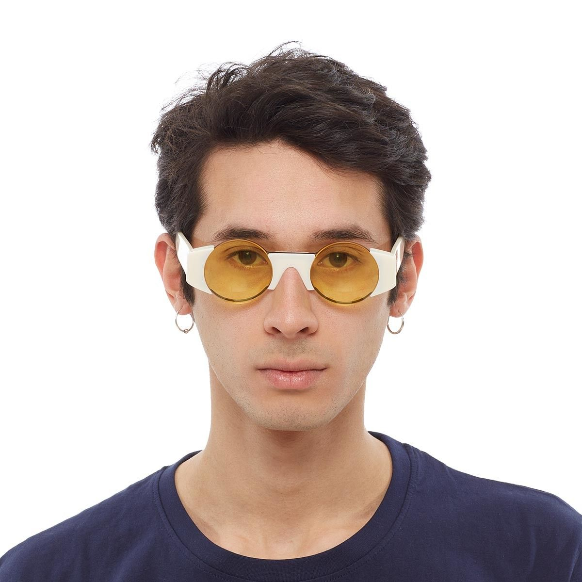 d5fef4a54e6 Super sunglasses 1 from Gosha Rubchinskiy x SUPER collection in white These  sunglasses from Gosha Rubchinskiy new collection are made in collaboration  with ...
