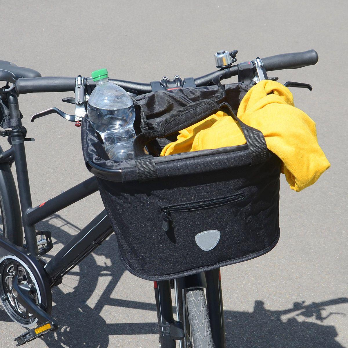 Faltbare Lenkertasche für's Fahrrad von #relaxdays