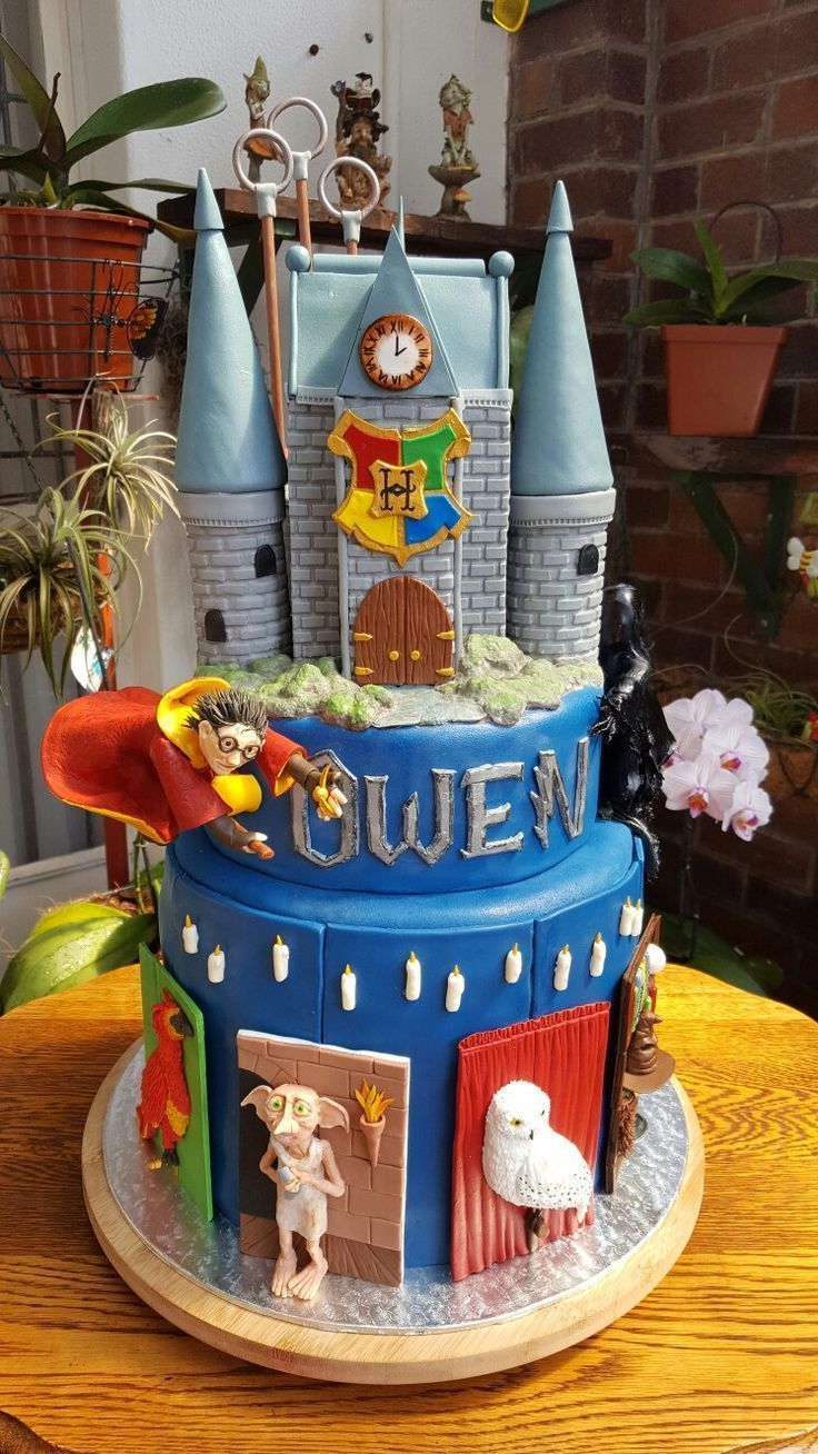 harry potter cake topper big w