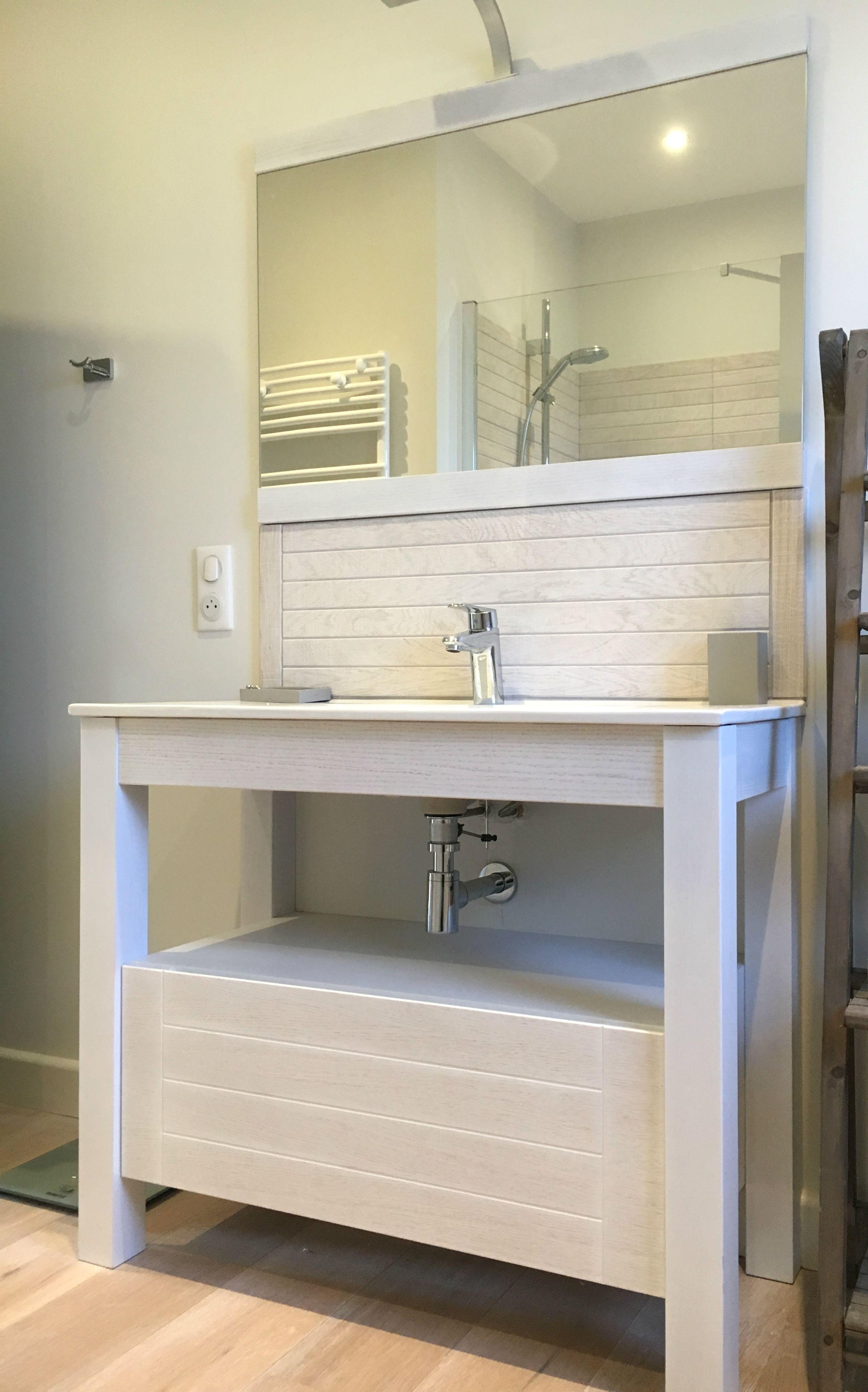Salle de bain à Concarneau réalisée par ALEXANDRE - LE BERRE