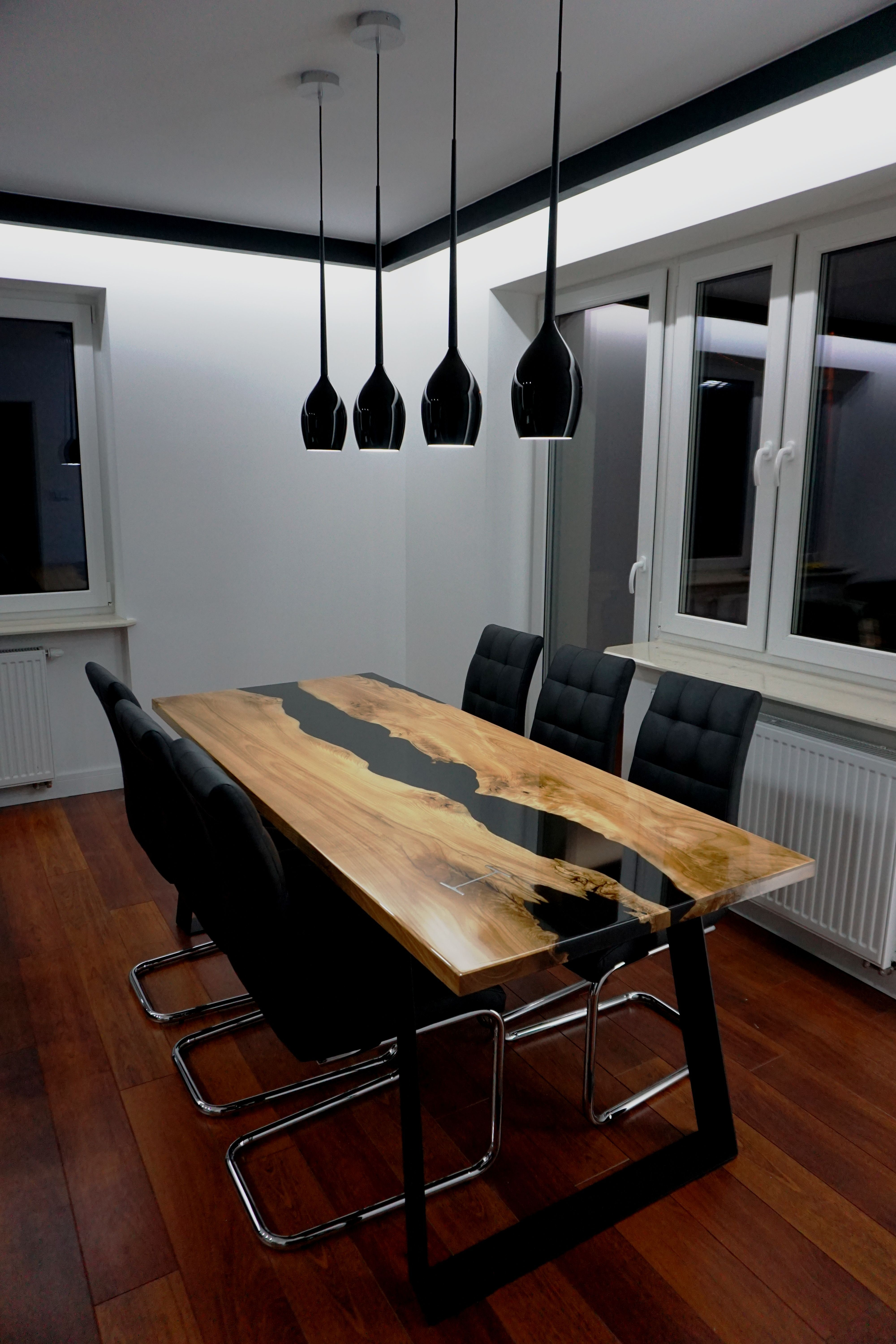 Black River Table Made To Order Unique Dining Tables Dining Table Design Wood Table Design