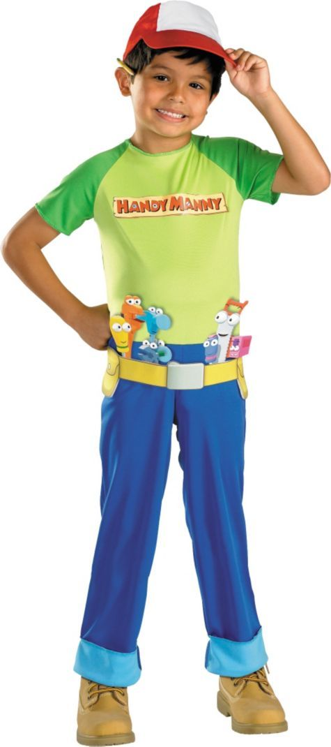 Handy Manny Costume for Boys - Party City | Handy manny ...