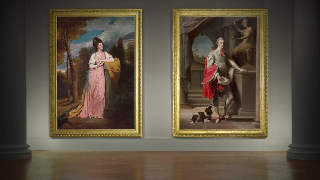 Two Important Portraits from the Monson Collection