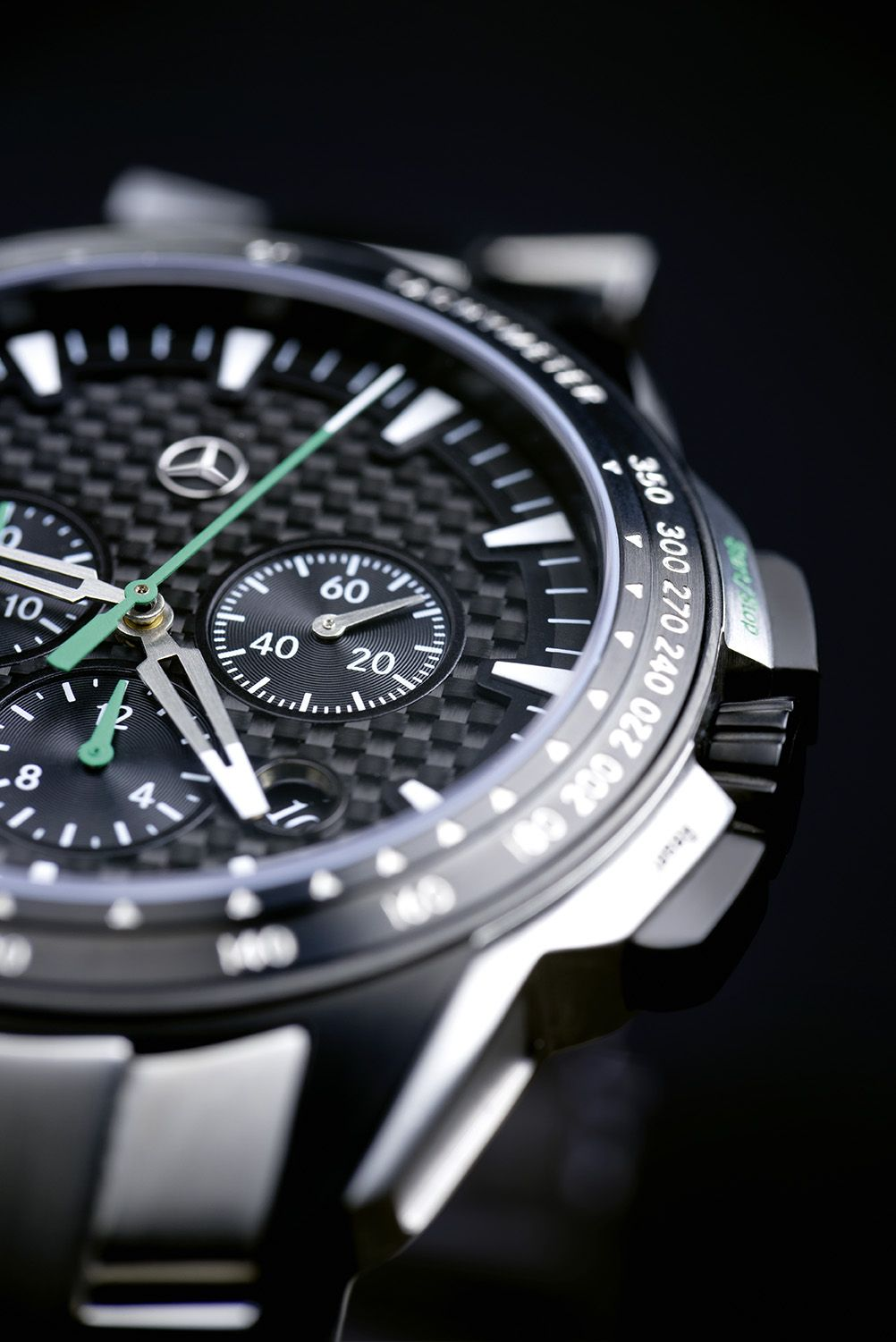 The Mercedes-Benz Motorsport Chronograph for men - where precision