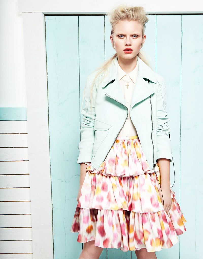 907d7e2b0 Lovisa Ekholm in #pretty #pastels styled by Christiane Graf and  photographed by Tina Luther