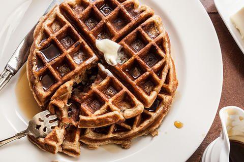 Apple-Cinnamon Waffles