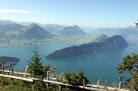 Rigi Bahnen - Schweiz - Vitznau - Hinterbergen - Unterstetten - Kaltbad