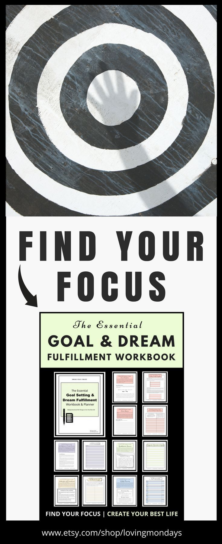 Workbooks goals workbook : This workbook is more than just a planner to list goals, it's a ...