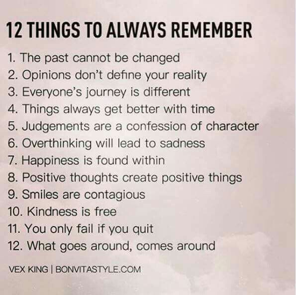 12 Things To Always Remember Words Motivational Quotes Positive Quotes