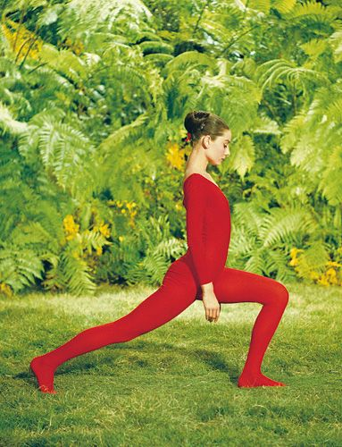 Audrey exercises