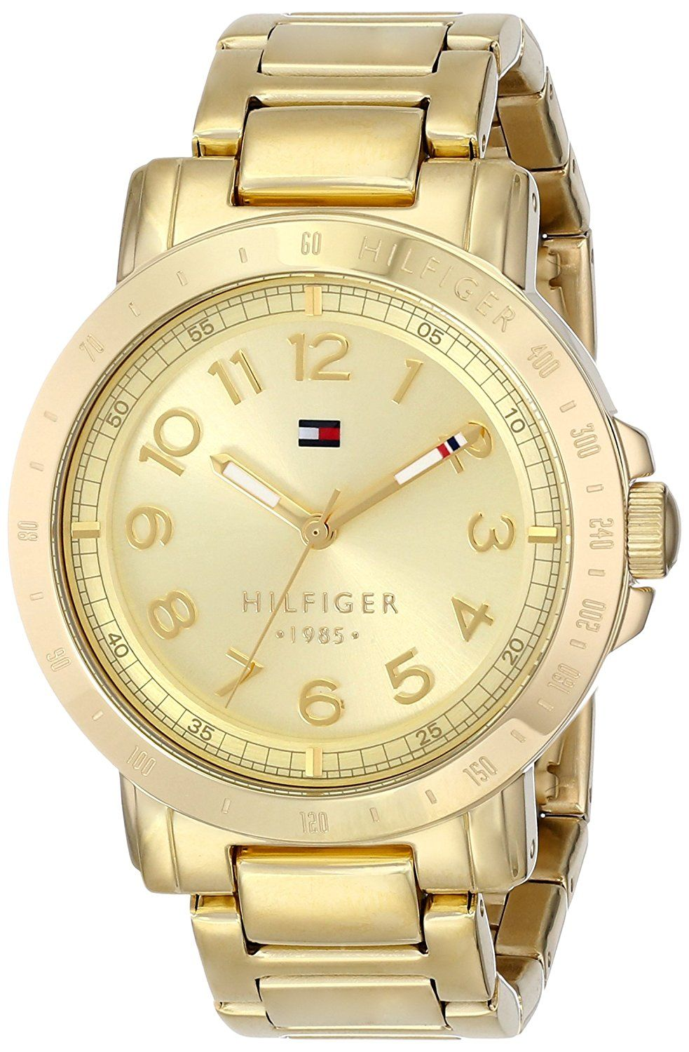 Tommy Hilfiger Women's 1781395 GoldPlated Watch * Awesome