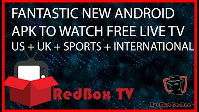 Redbox Tv apk best android app to watch live iptv free 2017