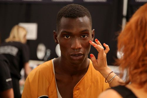 Adonis Bosso | Backstage at Richard Chai Love S/S 15