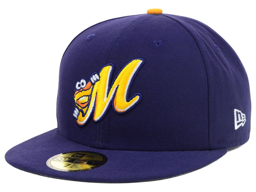new product 920bc 59f9e Montgomery Biscuits New Era MiLB AC 59FIFTY Cap