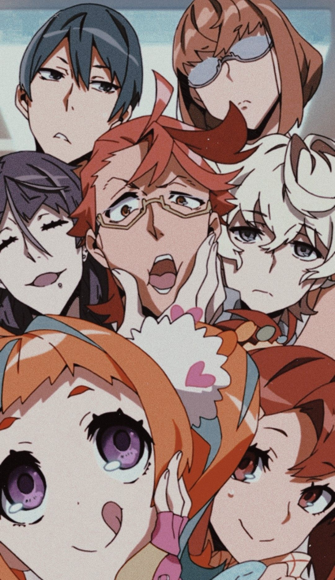 𝑲𝒊𝒛𝒏𝒂𝒊𝒗𝒆𝒓𝒔 Kiznaiver Anime Anime Anime Wallpaper