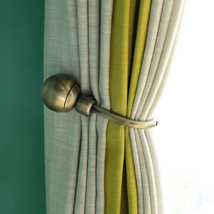 2pcs Set Window Curtain Holdback Europe Decoration Curtains