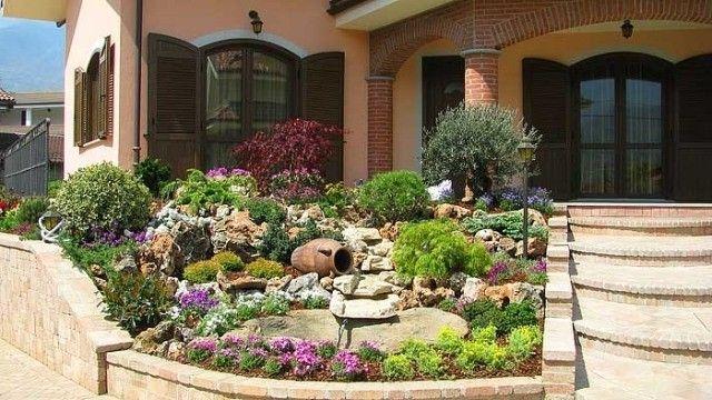 steingärten beispiele Vorgarten Anlegen Bilder Loveer Garten