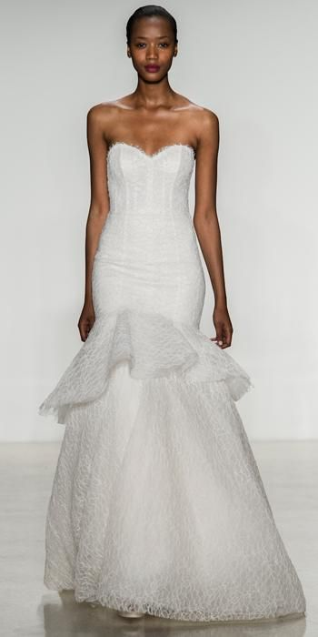 Amsale Fall 2014 Wedding Dresses - Amsale from #InStyle