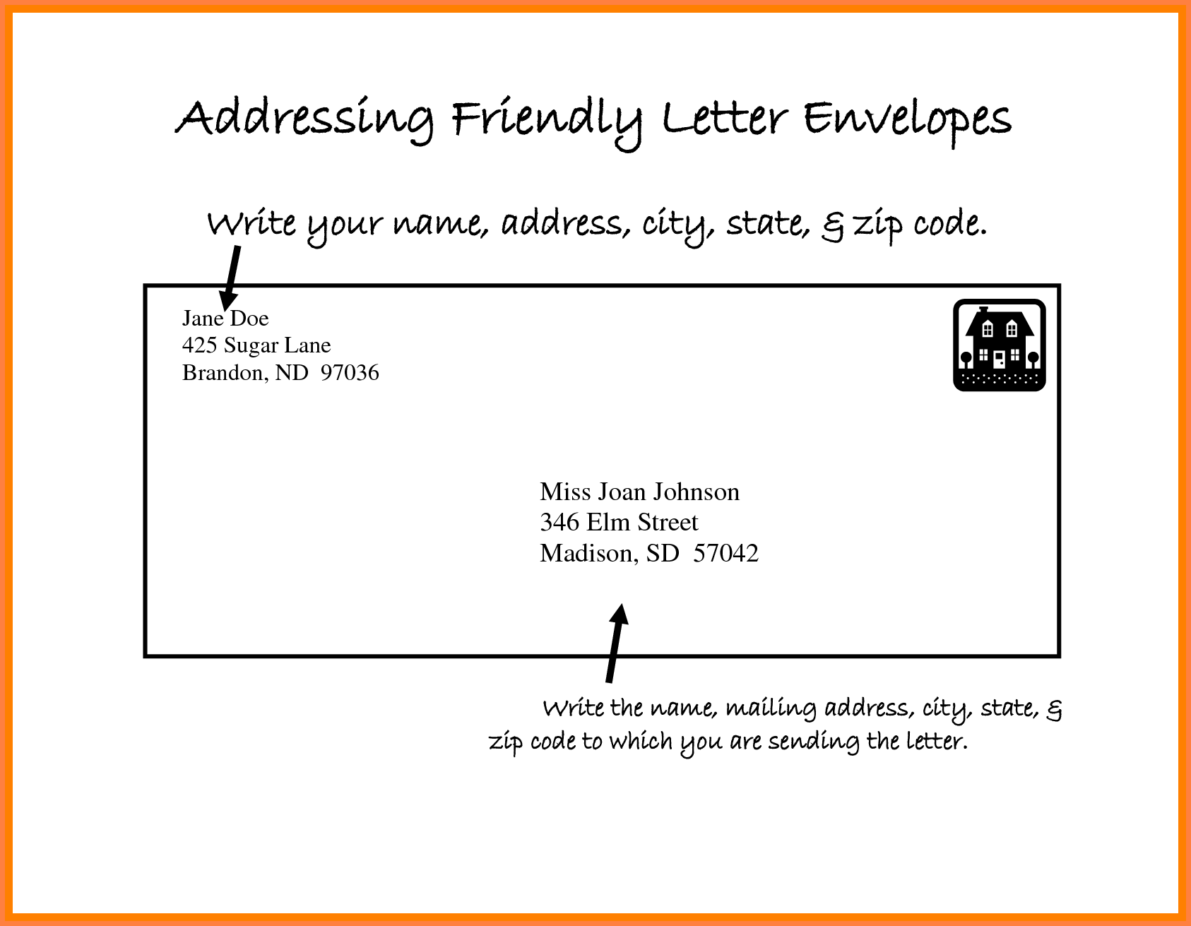 Addressing Business Letter.How To Write Address On Courier Envelope In India Best