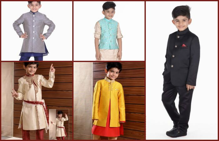 ef511adf3 Designer Royal Jodhpuri Suits for Weddings | Kids Indian Wear Sherwani Suits  | Boys Party Wear Bandhgala Suit with Breeches | Kids Ethnic Wear India
