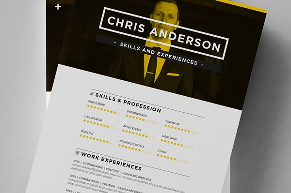 minimal resume    cv    curriculum vitae on behance