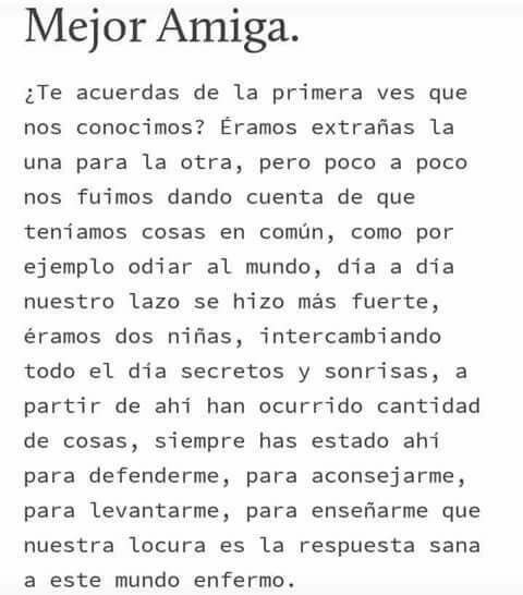 Frases Para Mí Bff Bestfriendquotes Bff Quotes Friend Bff Love Phrases