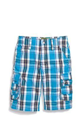eb0393c9 Lee Dungarees Plaid Cargo Shorts Boys 4-7 | Pinterest | Lee ...