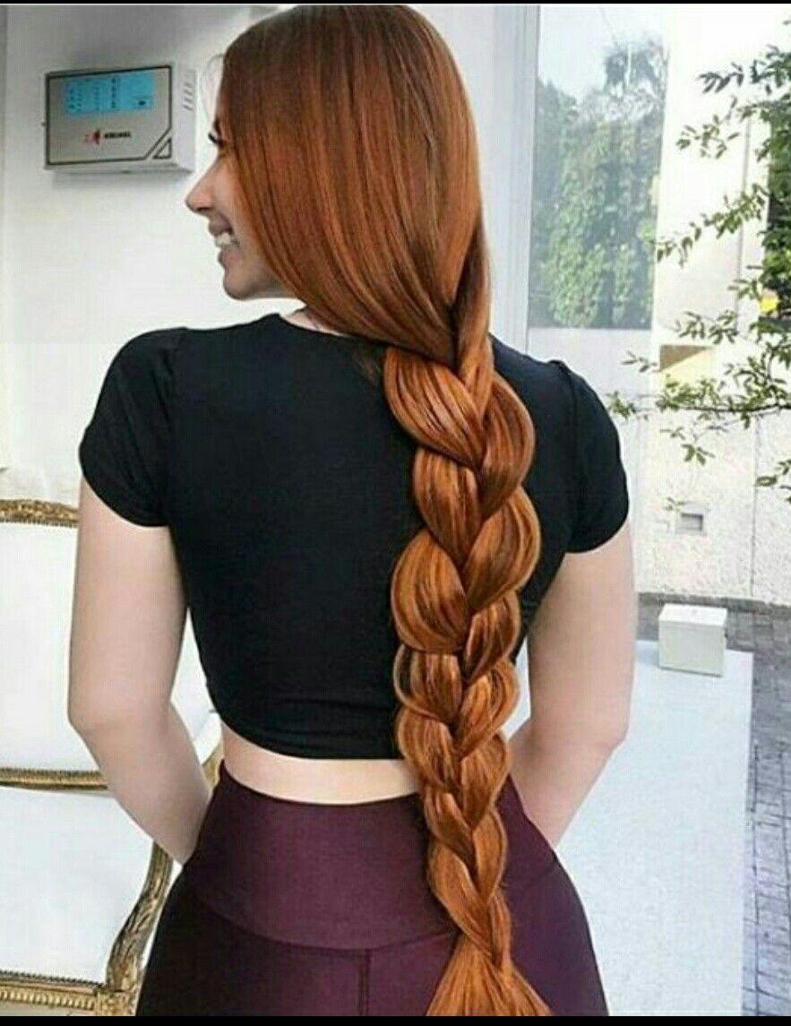 Pin by marnix on long hair pinterest redheads beautiful braids