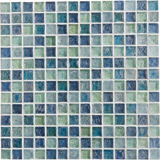 Mosaique Ice Flou Turquoise 2x2 Cm Wc Pinterest Turquoise