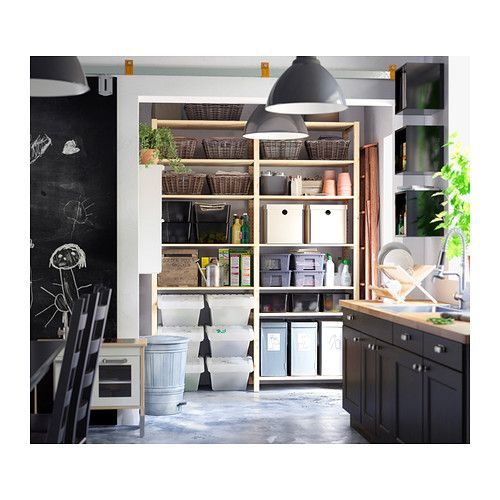 ivar 2 elem regale kiefer reduite. Black Bedroom Furniture Sets. Home Design Ideas