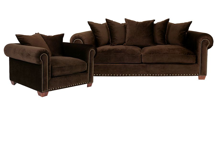 Great Chic Combo   Linden Sofa U0026 Chair   Beluga | Sofa Combos | Chic