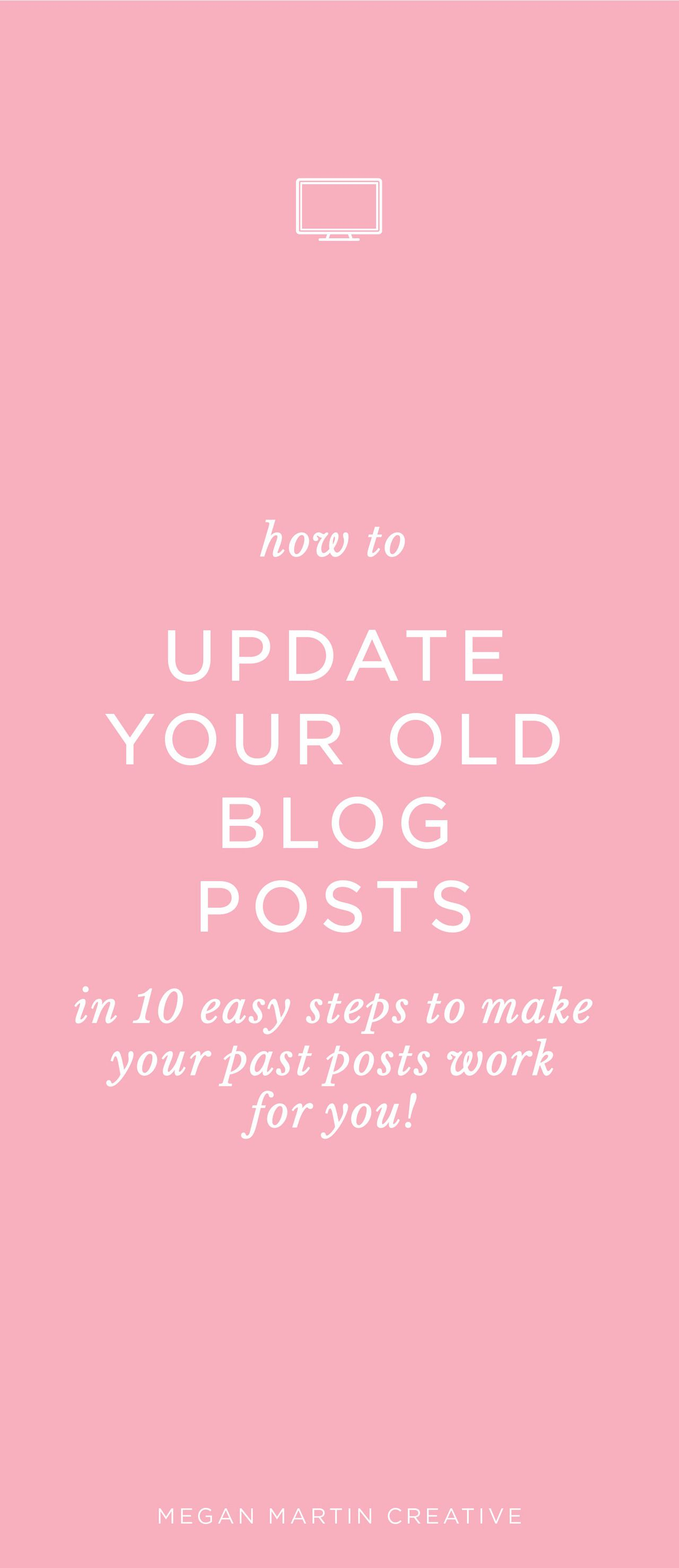How To Update Old Blog Posts To Revive Your Work With Images