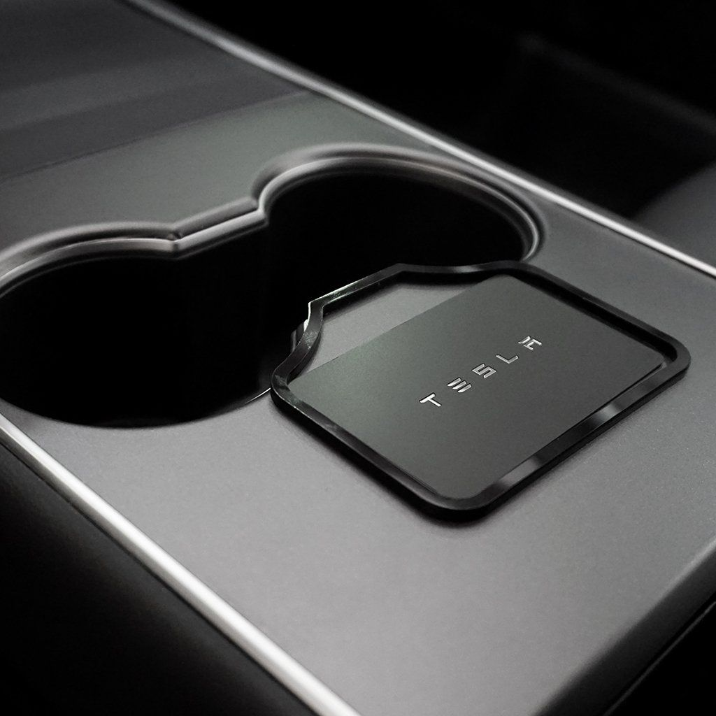 Cardrails an integrated key card holder for tesla model 3