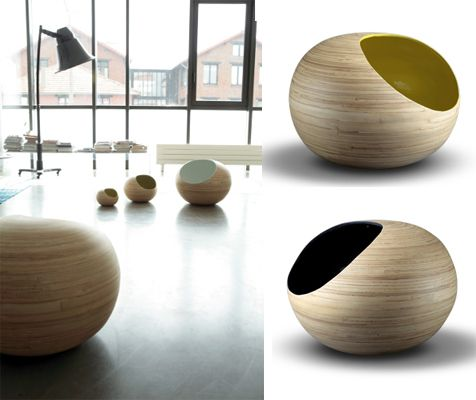 Delightful Modern Orb Shaped Storage Boxes From Red Edition. Could Be Used As A Cat Bed .