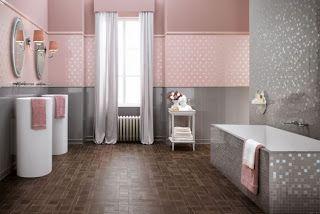 Banos En Rosa Y Gris Dormitorio Rosado Y Gris Rosa Y Gris