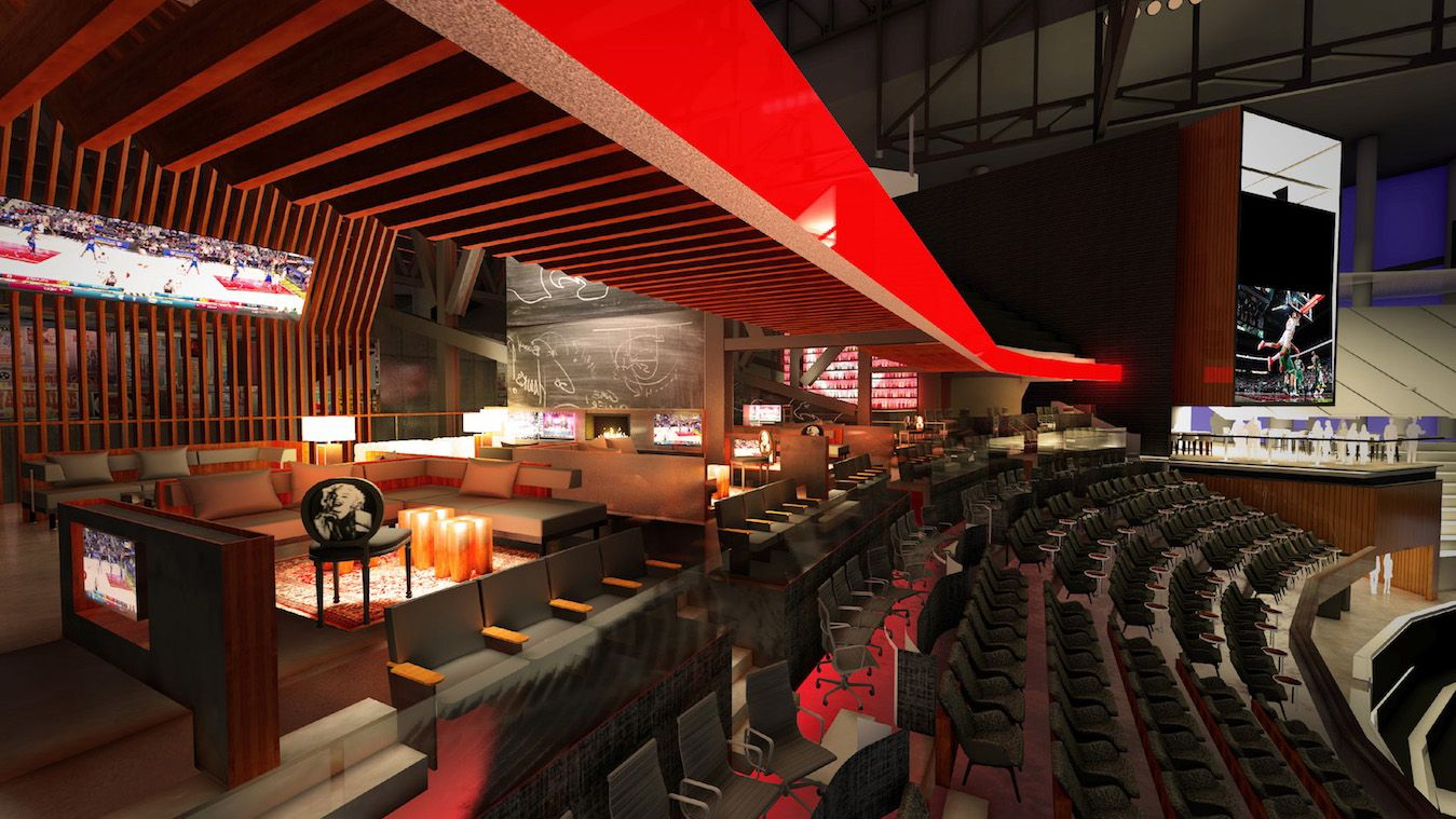 The New Philips Arena Premium Seating Clubs From sports