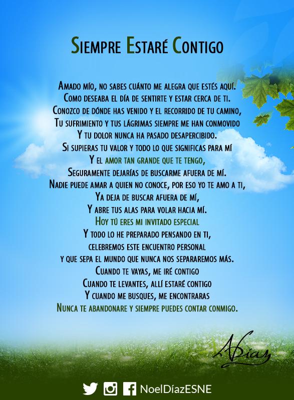 Siempreestarécontigo Textos De Amor Bonitos Oraciones Y
